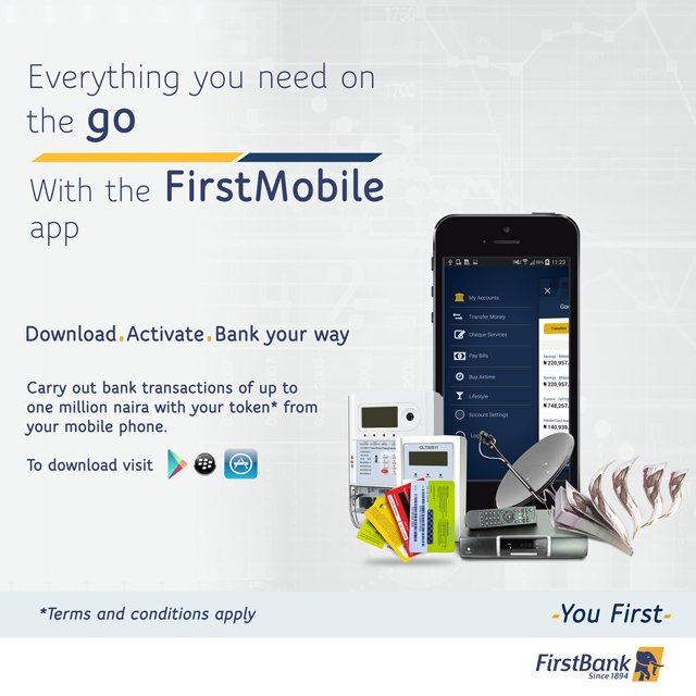 FirstMobile First Bank Nigeria: How To Download And Use The Mobile App