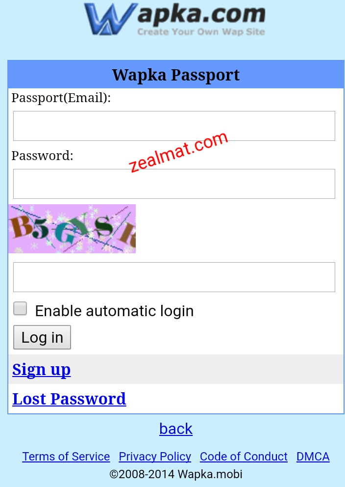 How to Setup or Park a Domain on WAPKA