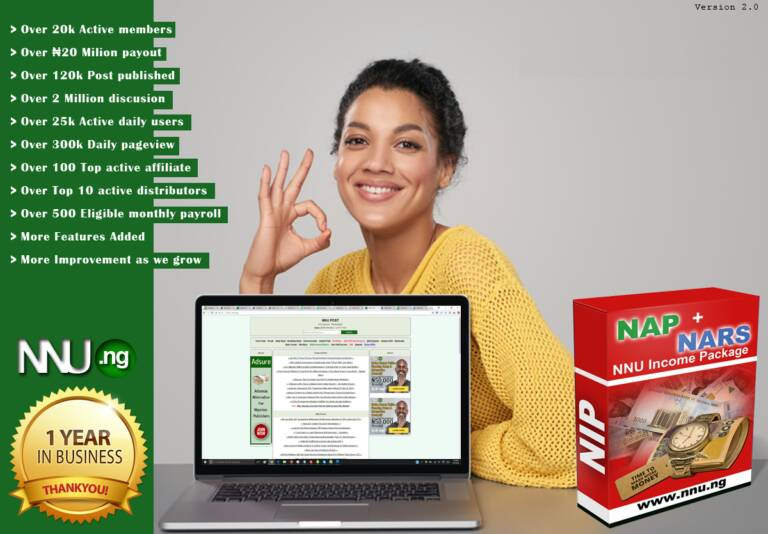 Nnu Income Program (NIP) review is it scam or Legit? 3